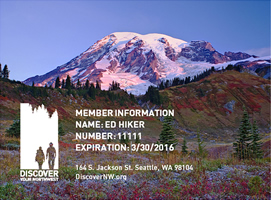 Discover Your Northwest: Annual Membership